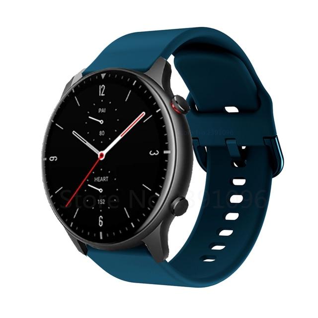 FIFATA Smart Watch Band For Amazfit GTR 2 Silicone Wrist Strap For Xiaomi Huami Amazfit GTR 42 47mm GTR2 GTS2 Bip U/S Bracelet 3
