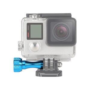 Image 5 - 3pc aluminium pouce bouton boulon écrou vis + clé pour GoPro Hero 8/7/6/5/4 SJCAM SJ4000 Xiaomi Yi 4K couleur aléatoire