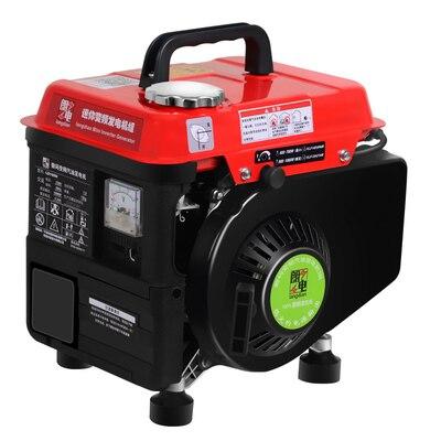 gasolina portátil monofásico de baixa ruído fonte de alimentação de emergência.