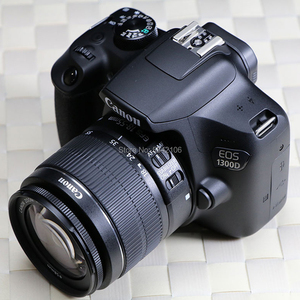 95% new used Canon EF-S 18-55mm F/3.5-5.6 IS II camera lens and Canon EOS 1300D DSLR Camera