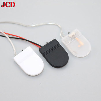 JCD 1Pcs CR2032 Button Coin Cell Battery Socket Holder Case Cover With ON/OFF Switch 3V x1 6V battery Storage Box image