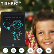 TISHRIC Digital Graphics Tablet LCD Writing Tablet 8.5/10/12 inch Erasable Electronic Drawing Tablet/Pad/Board For Kids With Pen цена 2017