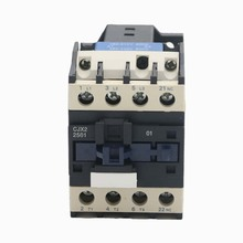 цена на AC Contactor CJX2-2501 25A switches LC1 AC contactor voltage 380V 220V 110V 48V 36V 24V 12V Use with float switch
