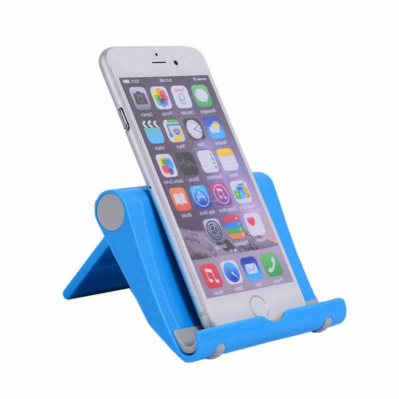 Multi-angle Adjustment Rotary Lazy Desktop Phone Tablet Universal Bracket Foldable Mobile Phone Holders Stands