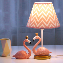 Modern deco lovely flame bird table lamp creative LED desk light for living room children bedroom bedside indoor e27