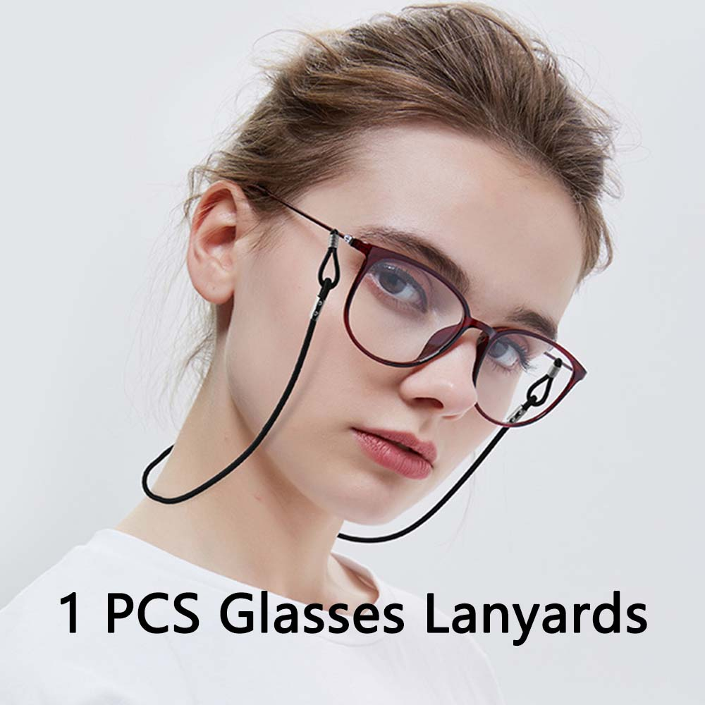 1PCS Candy Color Eyeglasses Straps Elastic Rope Sunglasses Chain Anti-Slip String Glasses Ropes Band Cord Holder 9 Color