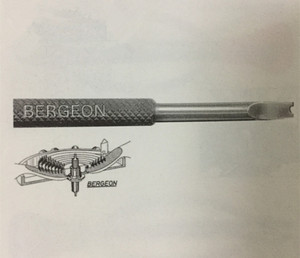Image 3 - Bergeon 30014 Pairs Van Hevels Voor Onrustveer Spantangen Pares De Palanquitas Para Virolas Horloge Gereedschap