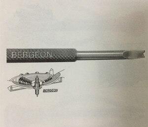Image 3 - Bergeon 30014 pares de palancas para hairspring Pinzas pares de palancas para virolas herramientas para relojes