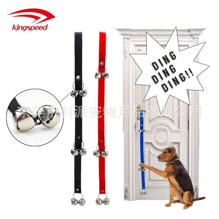 Hot Sales Pet Doorbell Lanyard Dog Training Dog Nursing Alert Bell Lanyard Guide Dog Doorbell