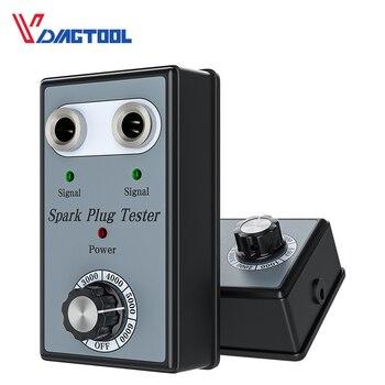 Nowy podwójny otwór świeca zapłonowa samochodu Tester wtyczka zapłonowa analizator pojazdów świeca zapłonowa Test detektor automatyczne narzędzie diagnostyczne