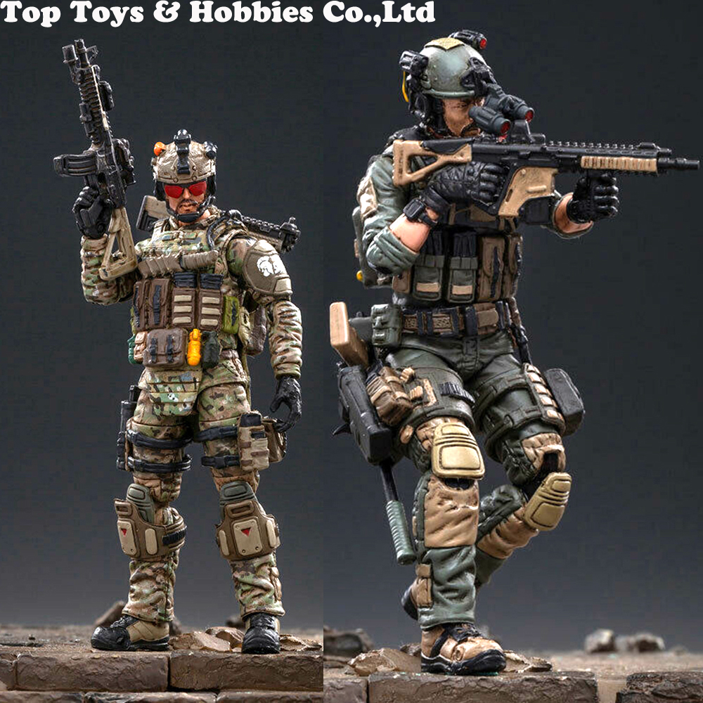 1/18 JTHC004 US Army Cavalry Paladin Hero Action Figure /  JTHC005 CIA Task Force Special Operations Group Toys For Fans Gifts