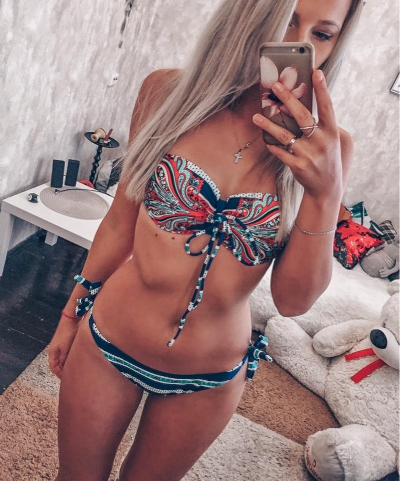 JABERAI Bikini 2019 Woman Swimsuit Female Swimwear Swimming Suit For Women Separate Swimsuit Sexy Bikini Push Up Swimwear Suit 2