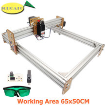 500*400mm GRBL 1.1f CNC Laser Engraver 15W Wood Engraving Machine 12V 5A 2-Axis Laser Cutting Printing Etched Cautery CNC6550