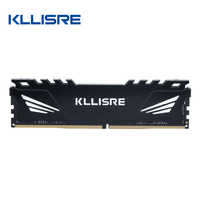 Kllisre-memoria ram DDR3 DDR4, 4GB, 8GB, 16GB, 1333, 1600, 1866, 2133, 2400, 2666, RGB, Dimm, con disipador de calor