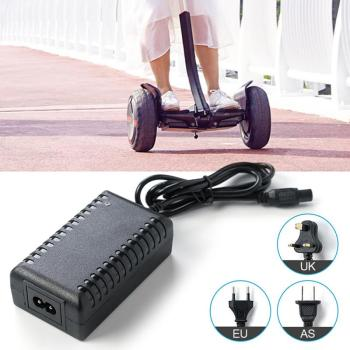 Power Adapter Charger For 2 Wheel Fit Battery Self Balancing Scooter Hoverboard Drift Car US UK EU Plug Car Accessories image