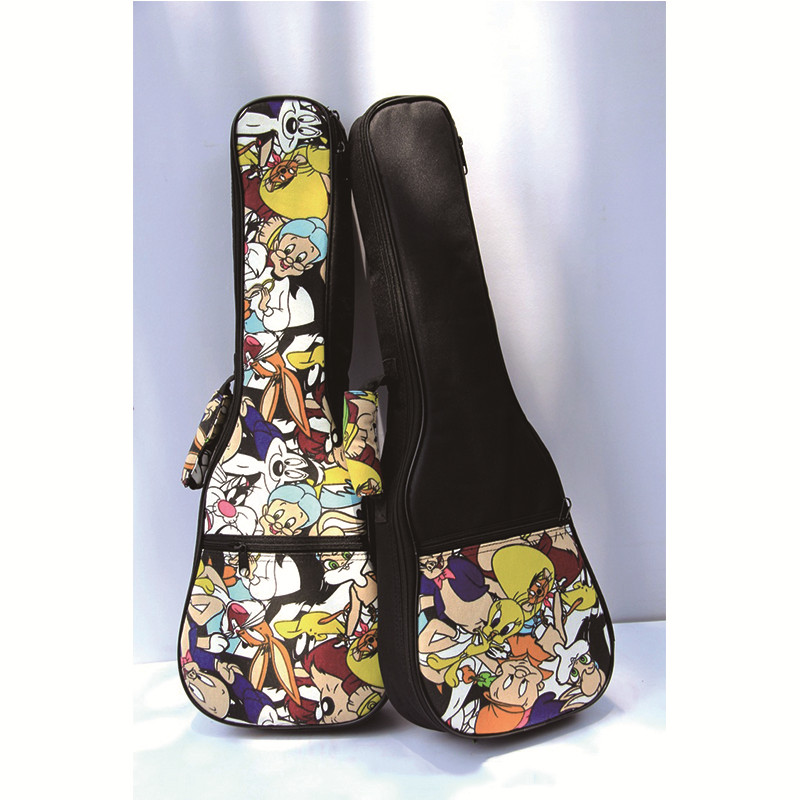 Ukulele Bag 21/23/26 Inch Portable Instrument Padded Gig Carry Bag Concert Carry Case Cover Guitar Parts Accessories For Ukulele