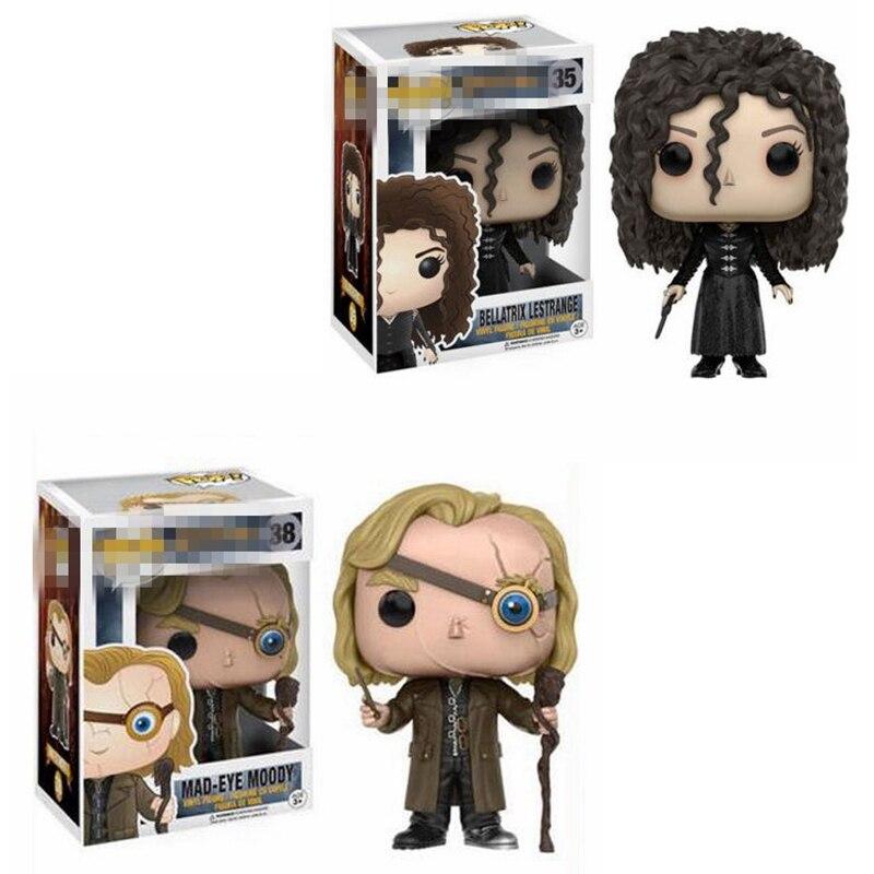 Funko POP Figures Harries Potter Bellatrix Lestrange Alastor Moody Limited Vinyl Dolls Model Toys For Children Birthday Gifts 1