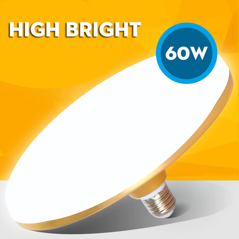 UFO Lamp Energy Saving Led Light 220V SMD 5730 LED Bulb E27 B22 15W 20W 30W 40W 50W 60W UFO Led Bulb Light Lampada For Home