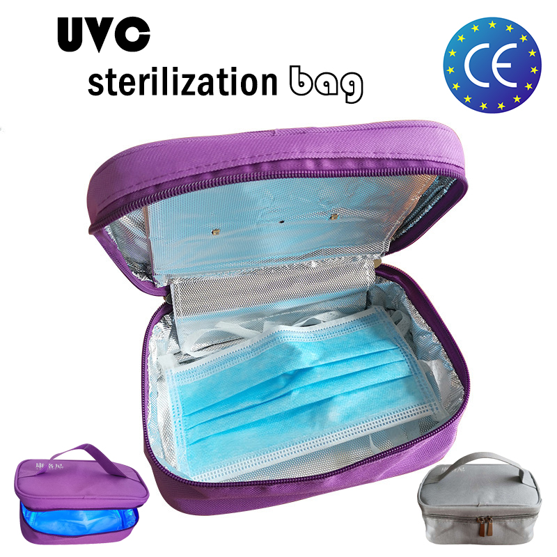 Reusable Air Mask UV Sterilizer Kit UV-C Sterilization Pack For Washable  Mask Uvc Disinfection Pack 99.99% Antibacterial Affect
