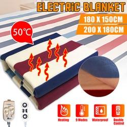 180x150 cm/200x180 cm automatyczne elektryczne termostat grzejnikowy rzut koc podwójne ogrzewacz ciała materac na łóżko elektryczne podgrzewane dywan Koce elektryczne Dom i ogród -