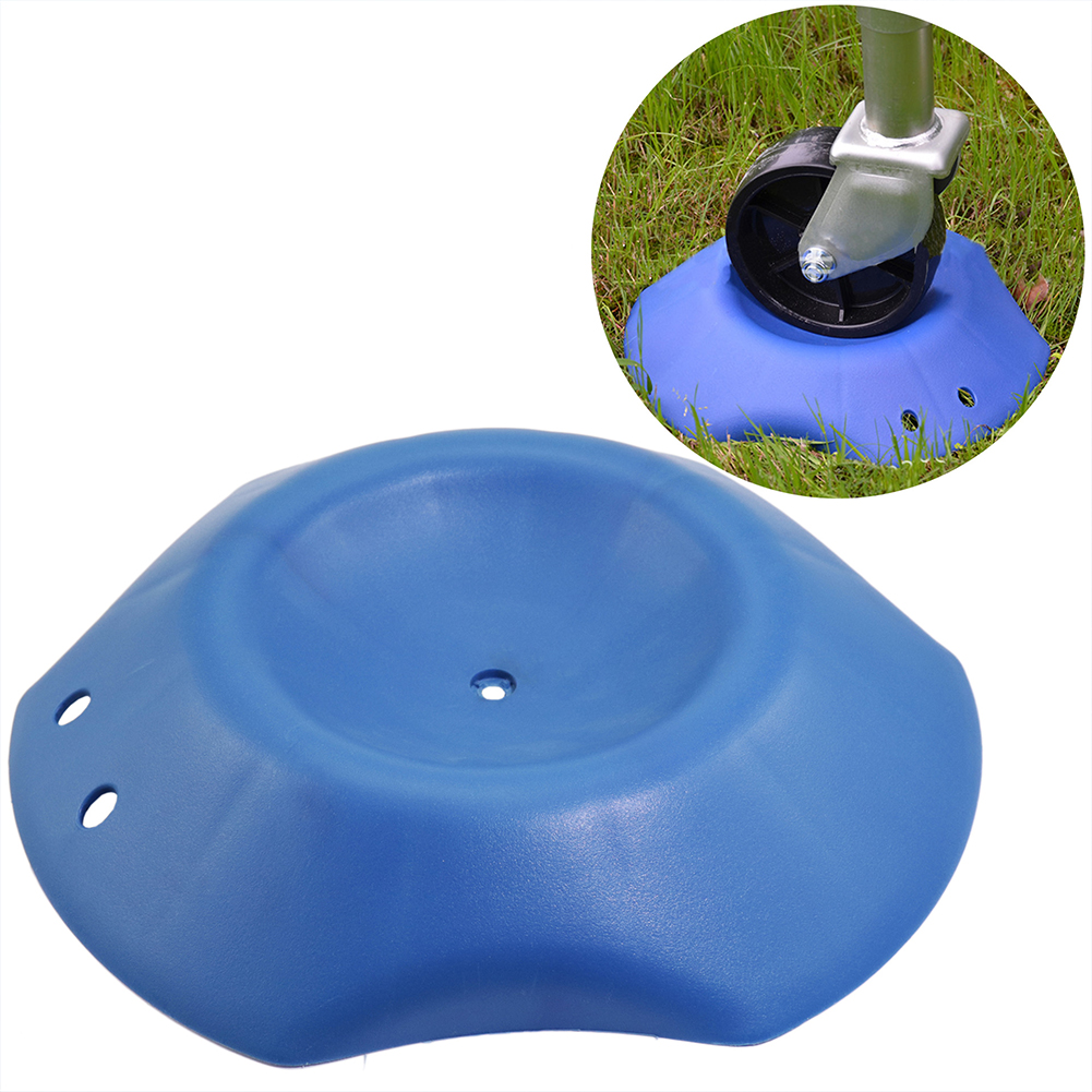 Stopper Plastic Universal Easy Apply Wheel Chock Blue Protective <font><b>RV</b></font> Block Anti Skid Portable Durable Caravan <font><b>Motorhome</b></font> Parts image