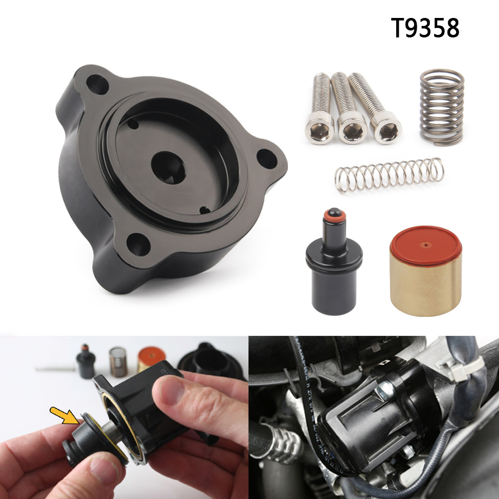 Car T9358 Pressure Relief Valve Base Turbocharger 2014-2016 Fit For Mercedes-Benz Ford Volvo