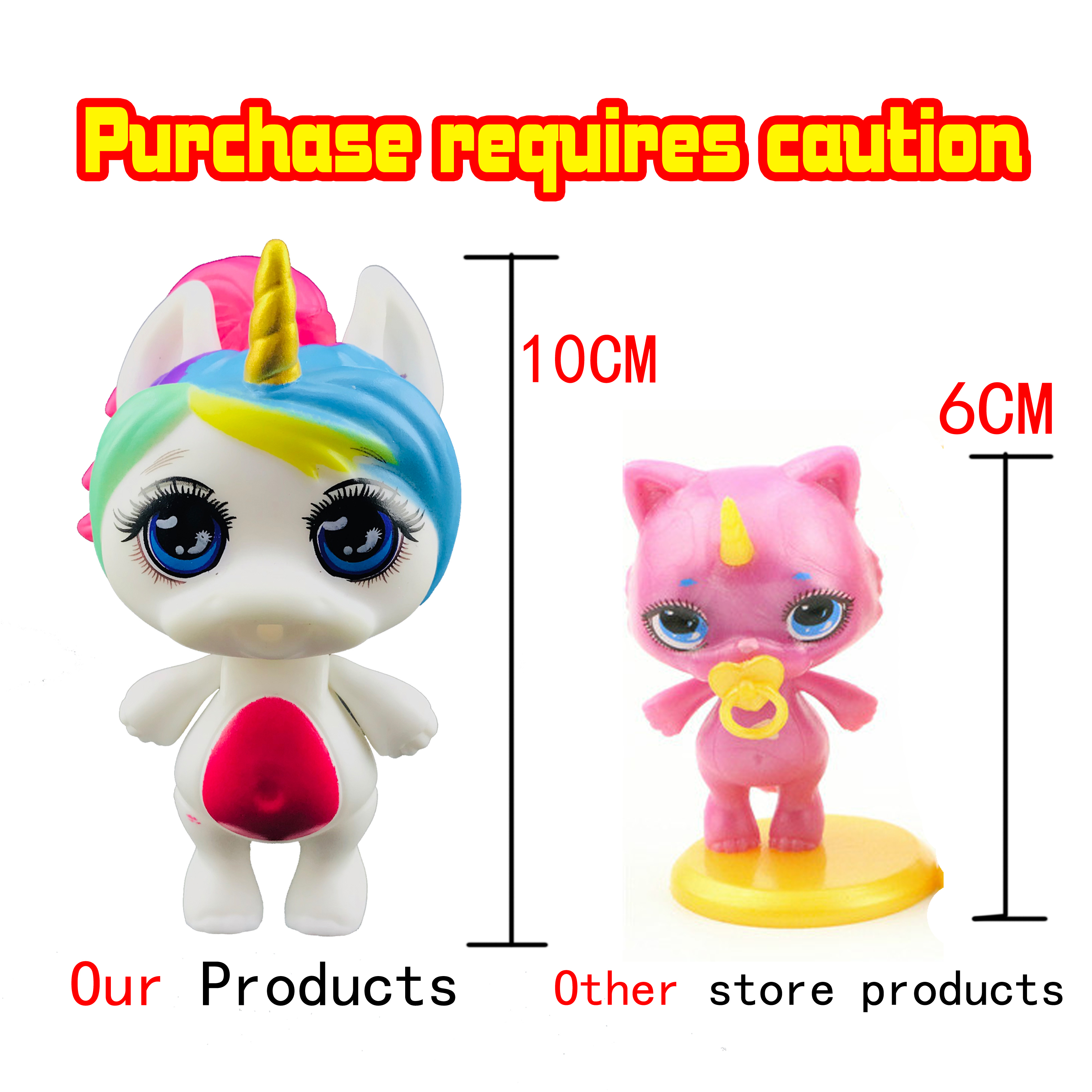 Lanyitoys NEW Cute Styles POOPSIE In Squeeze Toys Squishy Unicornio Squishy Toy Squishy Cat Surprising Poopsie Slime 4 Inch