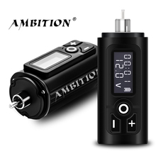 Ambition G4 Wreless Tattoo Battery RCA Interface Adapter 1950amh Battery Life 6-8 Hours