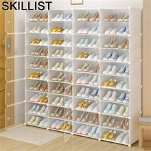 Opbergen schoenkast Ayakkabilik Zapatero plegable minimalista, Scarpiera Meuble, Chaussure, estante de gabinete, almacenamiento de zapatos