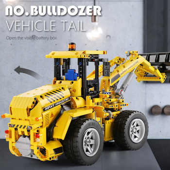 Mould King Technic series APP Remote control truck L350F wheel loader Model Building blocks Bricks Kids Toys Christmas Gifts