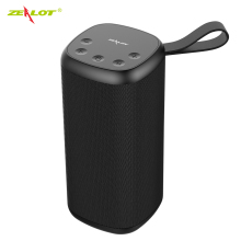 NEW ZEALOT S35 Bluetooth Speaker V5.0 Portable HIFI Subwoofer Boombox Wireless Speaker Support TF card, USB Pen Drive colorful lights speaker funny bluetooth speaker flapping wireless bluetooth 5 0 speaker boombox hifi subwoofer tf card