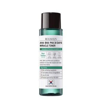 AHA BHA PHA 30 Days Miracle Toner Skin Care Teatree 120ml Facial Toner Serum Blackheads Remove Acne Treatment Skin Exfoliating