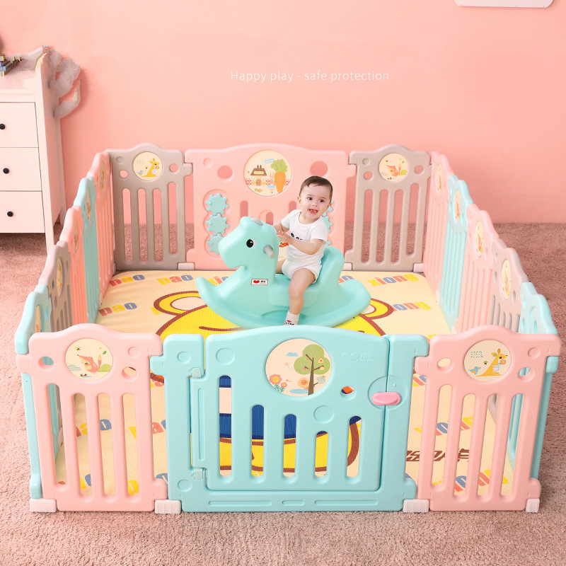 Children Baby Safety Playpens Fencing Indoor Baby Play House Crawling Toddlers Guardrail Game Playpen Kids Activity Gear