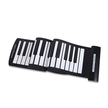 Portable 61 Keys Flexible Roll-Up Piano Electronic Keyboard Hand Roll Roll-Up Piano Roll-Up Piano 61 Keys