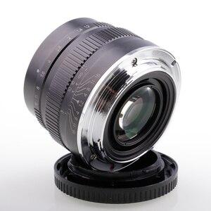 Image 4 - Riseshunt عدسة قياسية بفتحة كبيرة ، 35 مللي متر f/1.2 ، للكاميرا بدون مرآة ، JINGJI