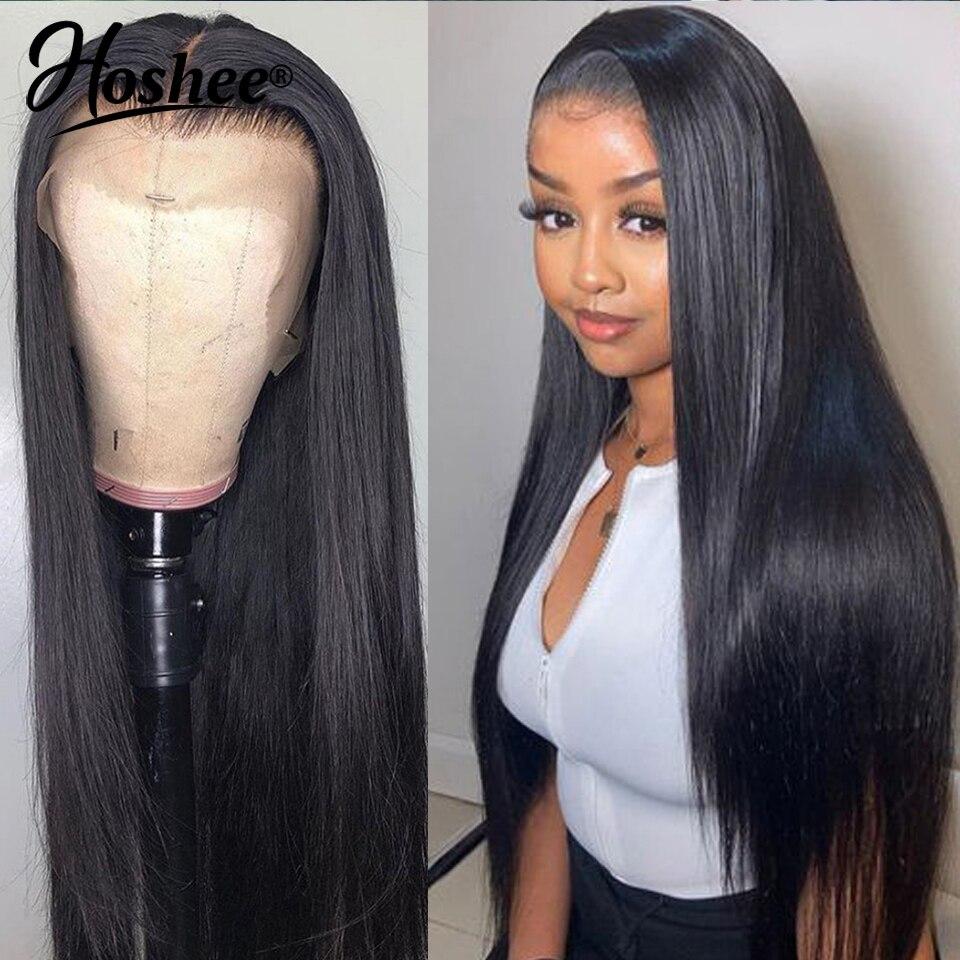 # 1B kolorowe peruki z ludzkich włosów wstępnie oskubane koronki przodu peruki z ludzkich włosów peruka na koronce brazylijskie peruki z włosów typu Remy dla czarnych kobiet