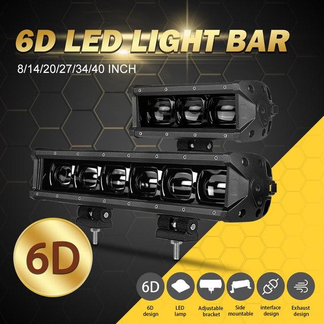 6D Lens led bar light (1)