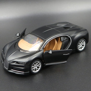 Simulation Bugatti Chiron Diecast Alloy Cars Alloy Minicar Collection Model Car Kids Toy For Boy Gift 1:34 bburago bugatti chiron 1 18 scale alloy model metal diecast car toys high quality collection kids toys gift