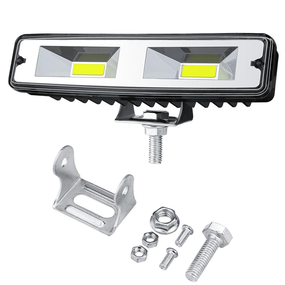 1Pcs 18W 12V COB LED Work Light Bulb Spot Beam Bar For Car Truck SUV Off Road Driving Fog Lamp LED Work Lights Spotlights