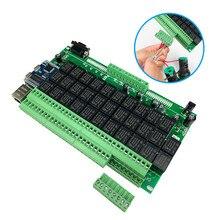 Kincony Smart Home Living Automazione Modulo Controller LAN Ethernet 32 Interruttore di Uscita 6 Sensore di Ingresso 100 250V 10A A distanza di Controllo