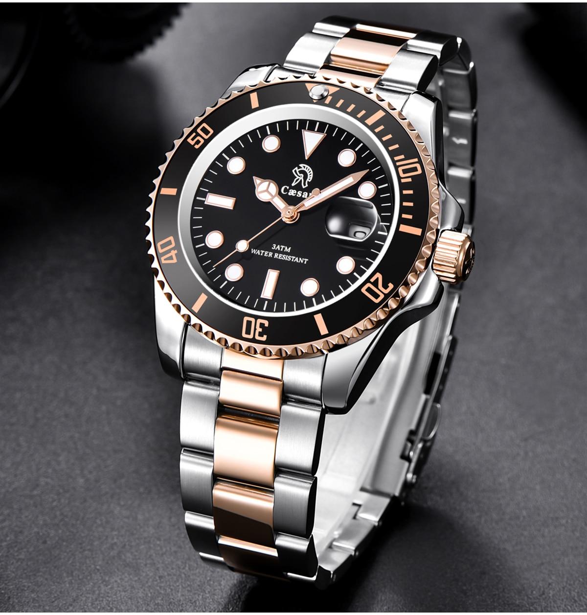 H6360d100da99419e907880c6b9bde4e0W Rose Gold caesar  Top Brand Luxury Watches