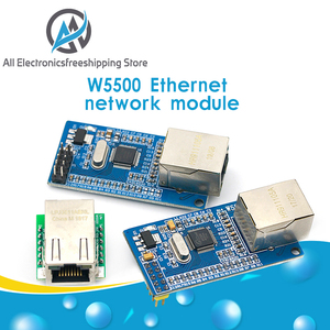 Умная электроника USR-ES1 W5500 чип Новый SPI для LAN/ Ethernet конвертер TCP/IP Mod