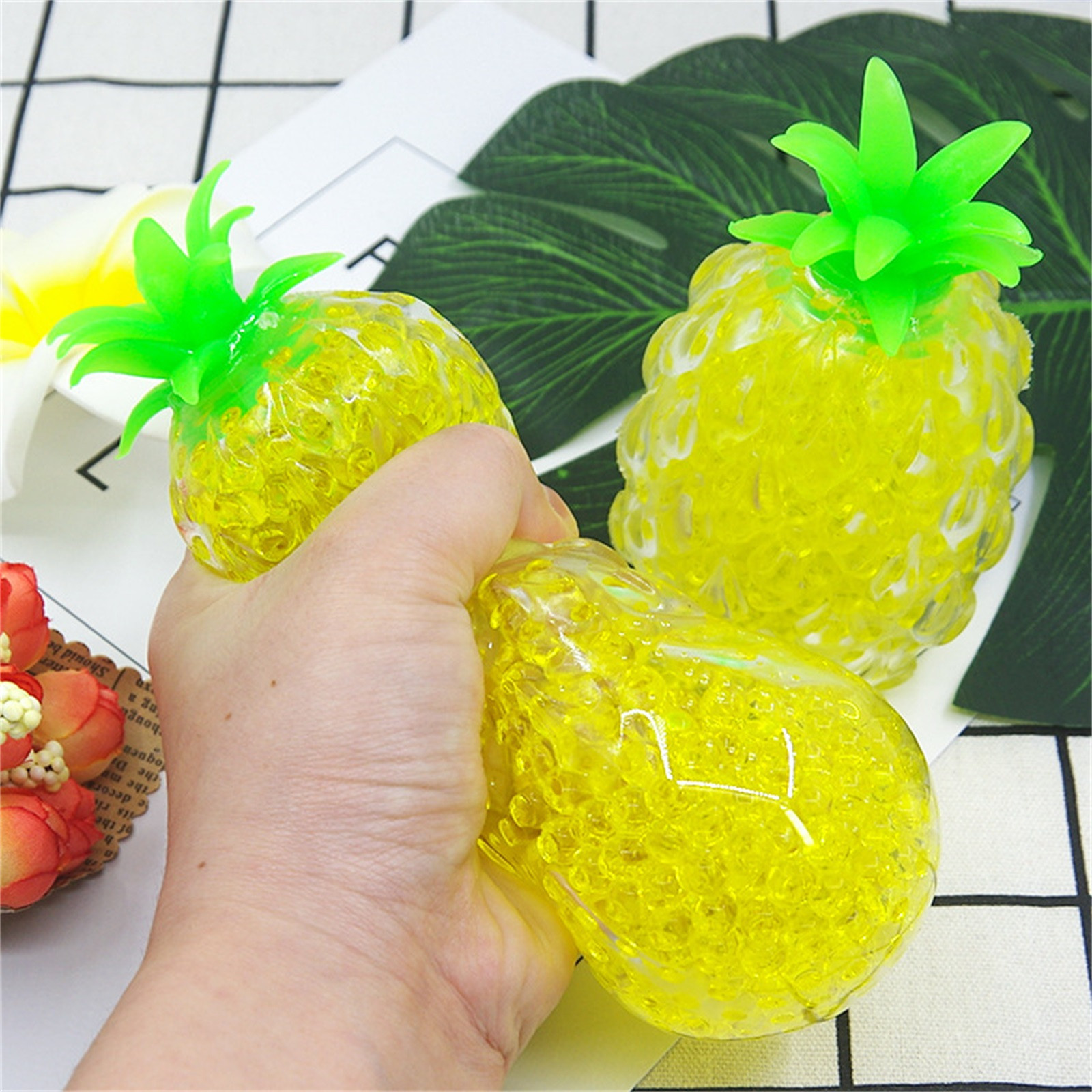 Decompression Toy Vent-Ball Squishy-Ball Pineapple Relief Funny Anti-Anxiety Squeeze