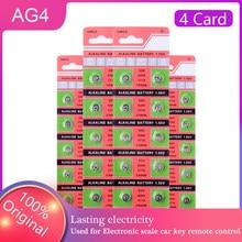Venda quente por atacado 40 pçs 1.5v botão pilha moeda bateria alcalina ag4 377 sr626sw 626 sr626 celular jogos eletrônicos substituir 4 cartões