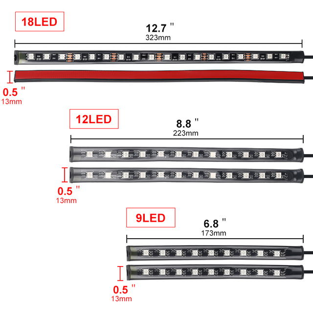 RGB LED Strip Lights Music Reactive 4