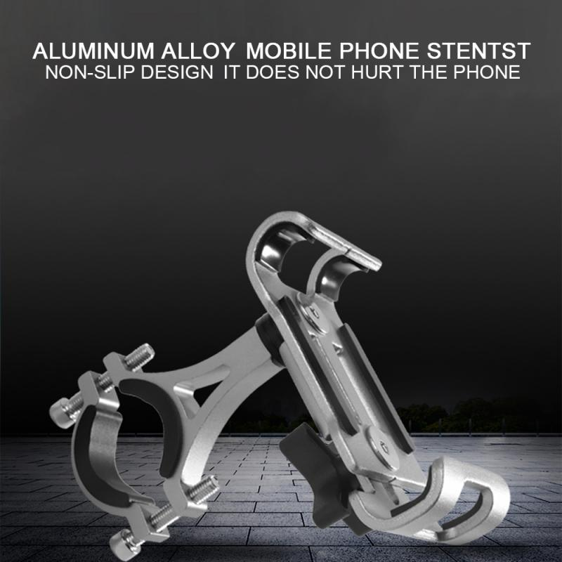 Universal Durable Phone Bracket Handlebar Mount Holder Bracket 360° Rotation Bicycle Motorcycle Mountain Bike Phone Holder