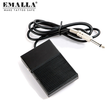 Hot Black Plastic Tattoo Foot Pedal Switch Machine Accessory Tattoos Tools  for Power Free Shipping