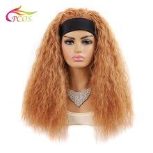 Длинные вьющиеся светлые парики для афроамериканских женщин