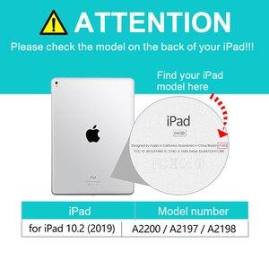 Image 5 - Cassa Della Tastiera senza fili per Ipad 10.2 Tastiera Funda per Apple Ipad 7th Generation A2200 A2198 A2197 Tastiera Bluetooth