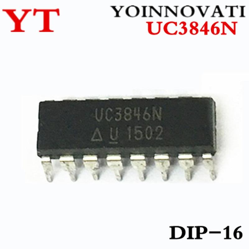 2PCS UC3846N Current Mode PWM Controller DIP-16